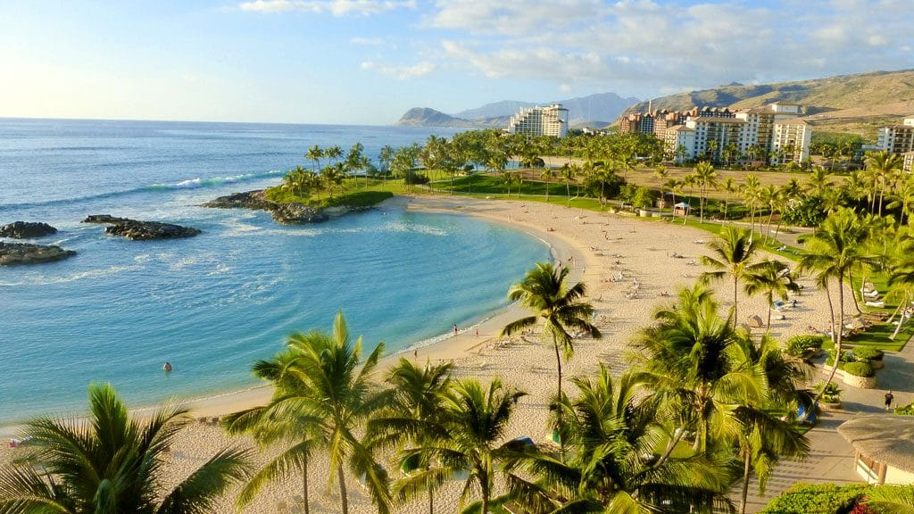 Chill out at Hawaii's Ko Olina resort, gorgeous beaches on Oahu's quieter side