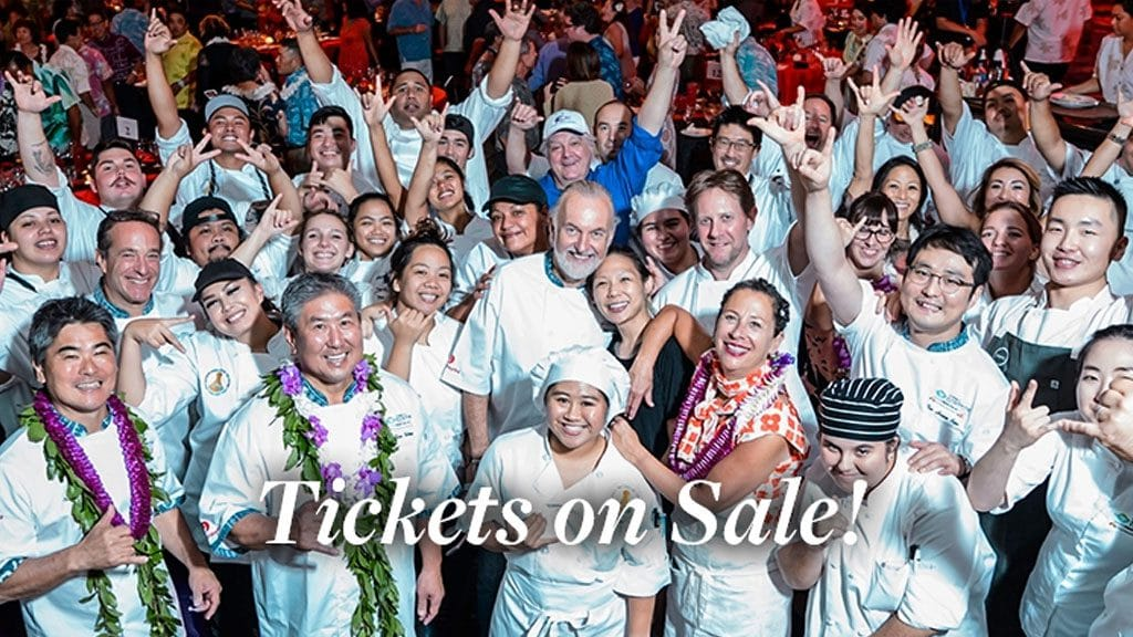 Talent Lineup and Ticket Sales Announced for Seventh Annual Hawai'i Food & Wine Festival