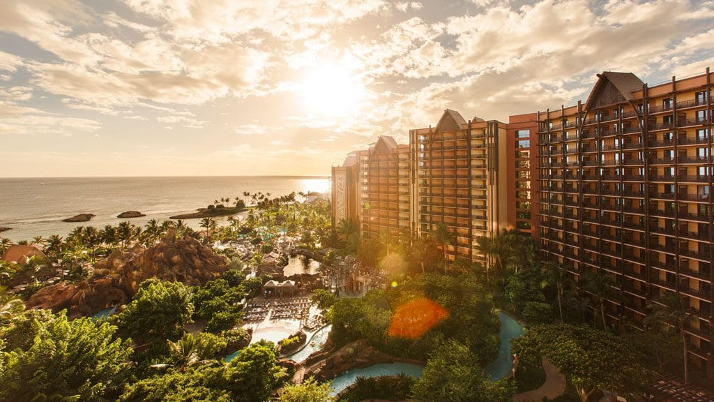 It's Family Time at Oahu's Aulani Disney Resort