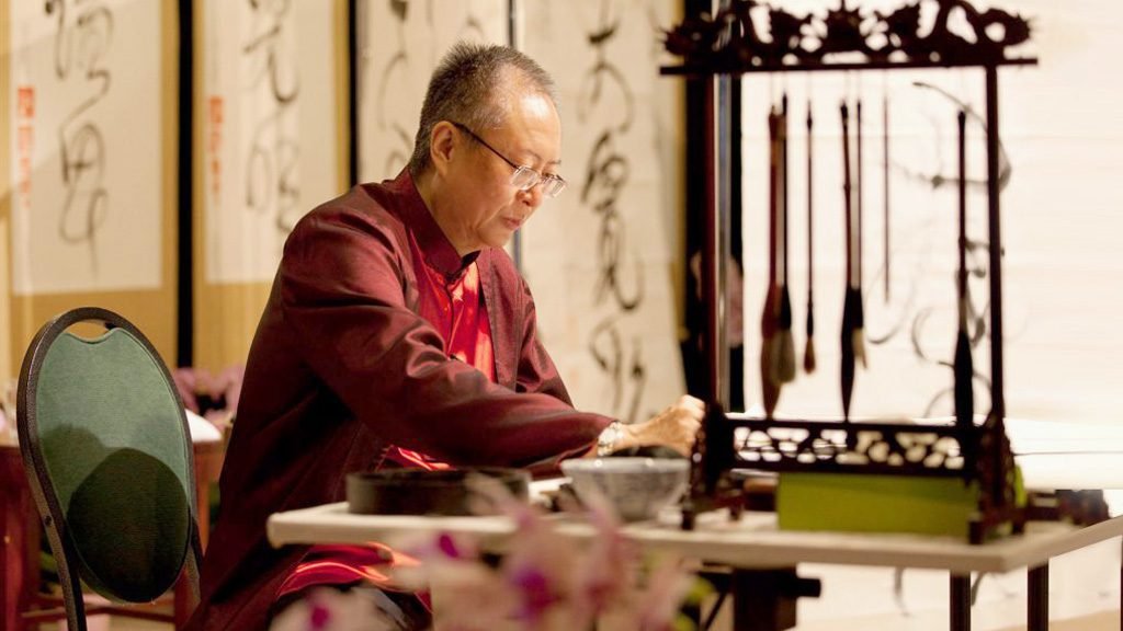 Tao Calligraphy Exhibit and Demonstration at Four Seasons Resort Oʻahu at Ko Olina