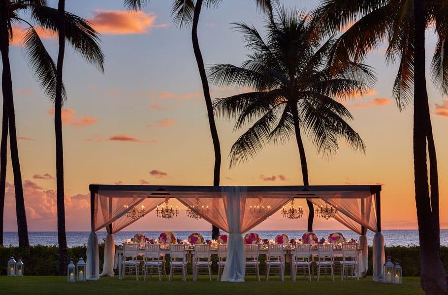 Pin by Four Seasons Resort Oahu at K on Wedding
