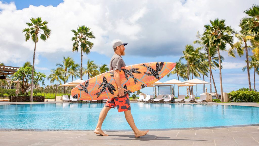 Surfboards are Transformed into Works of Art in Old Hawaii