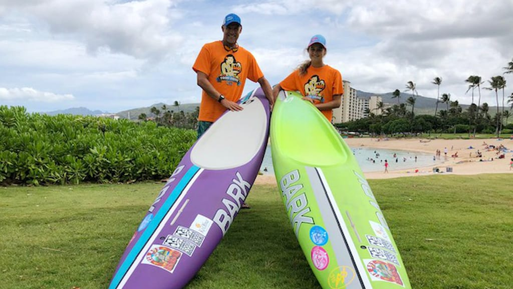 Team Fritz talks about Molokai to Oahu Paddleboard Championships