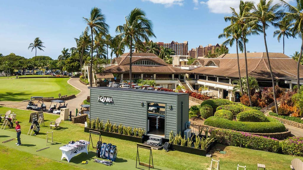"Ko Olina Opens Exclusive ""Honma Experience"" Fitting Location"