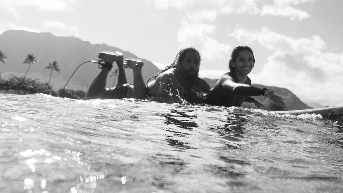 Jordan Maka'alanalani Iaea Patterson: The Tandem Surfer