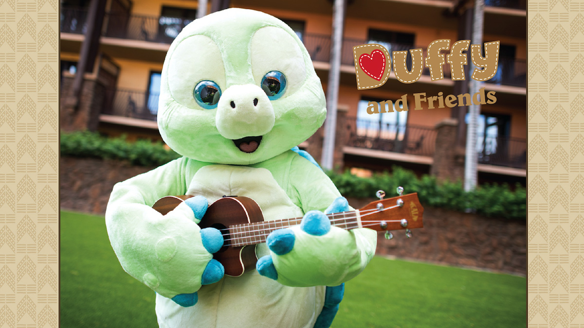 Visit 'Olu Mel a Friend of Duffy at Aulani, A Disney Resort & Spa