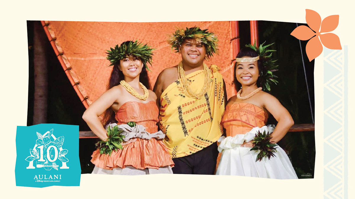 Aulani cast members: Angela Morales and Eric Lee